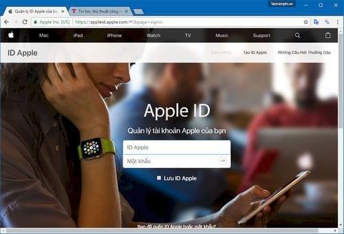 Cách đổi mật khẩu iCloud trên iPhone