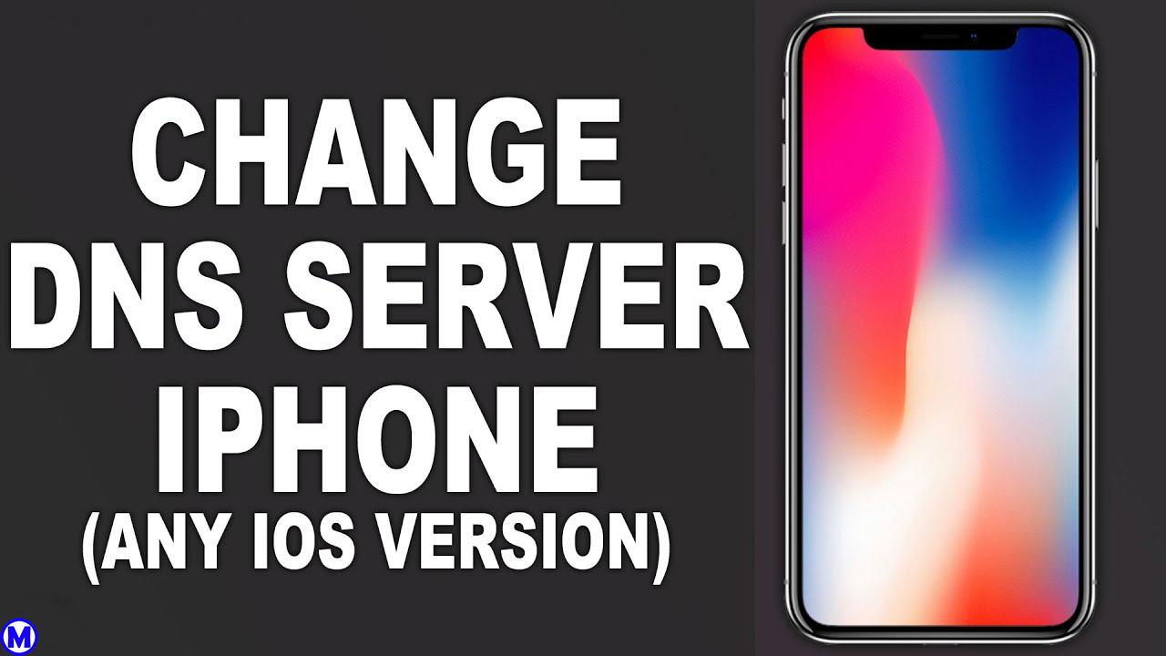 Cách đổi DNS trên iphone iOS 12