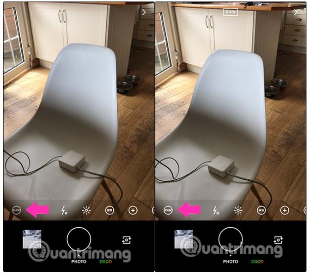 Cách chụp ảnh RAW trên iPhone bằng ứng dụng VSCO 1