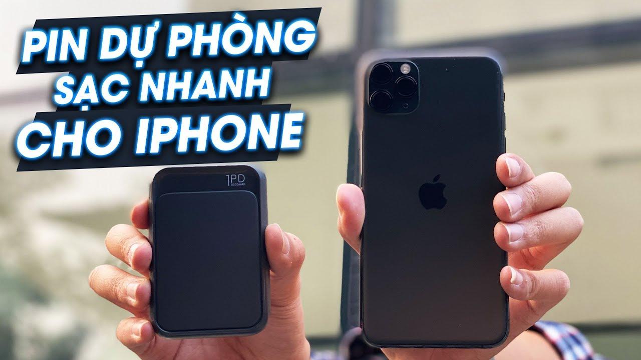 sạc dự phòng cho iphone 12 pro max